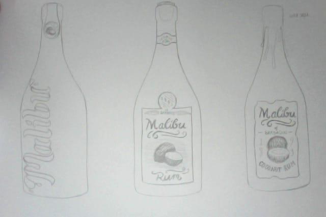 Malibu Rum - image 3 - student project