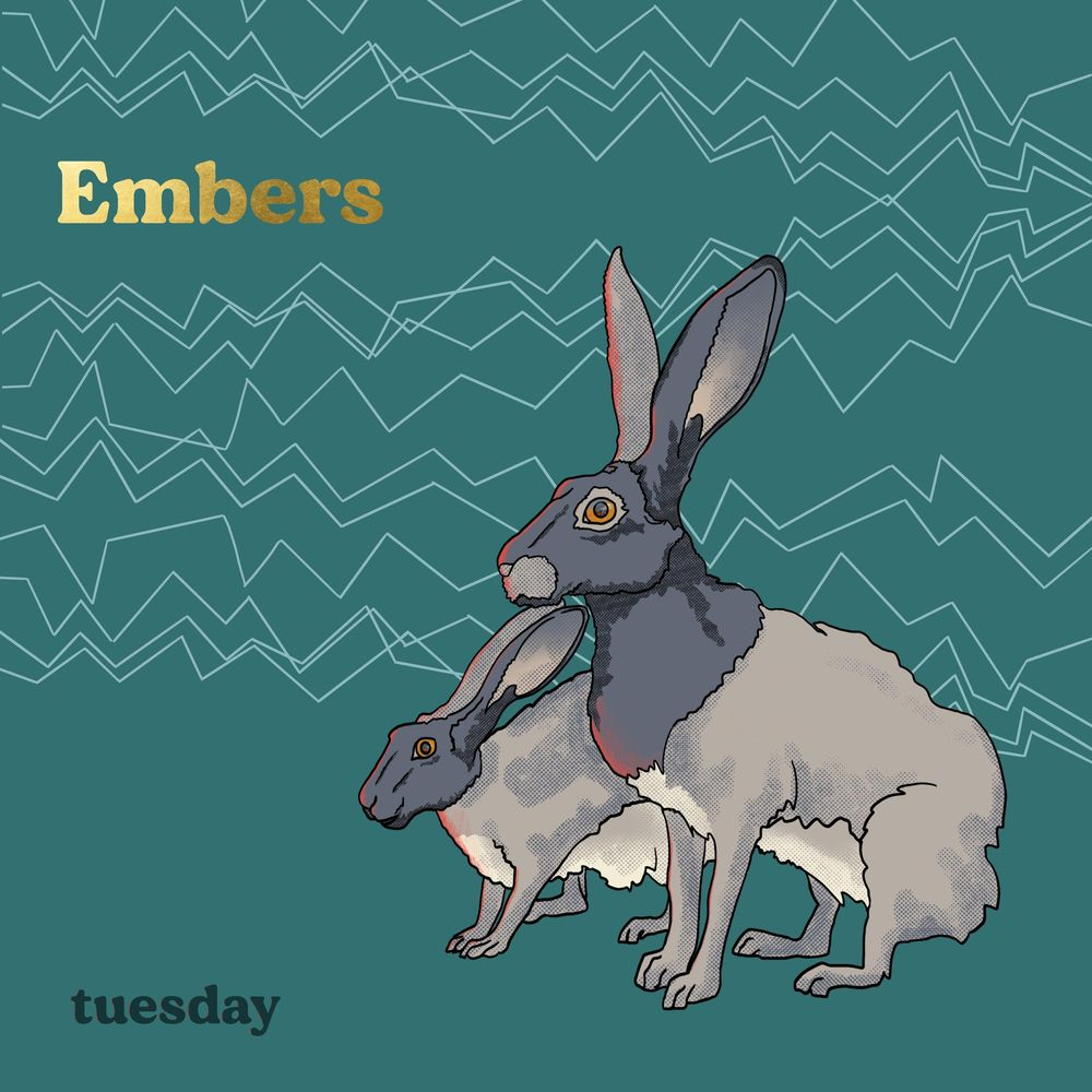 """Embers """"tuesday"""" Album Cover - image 1 - student project"""