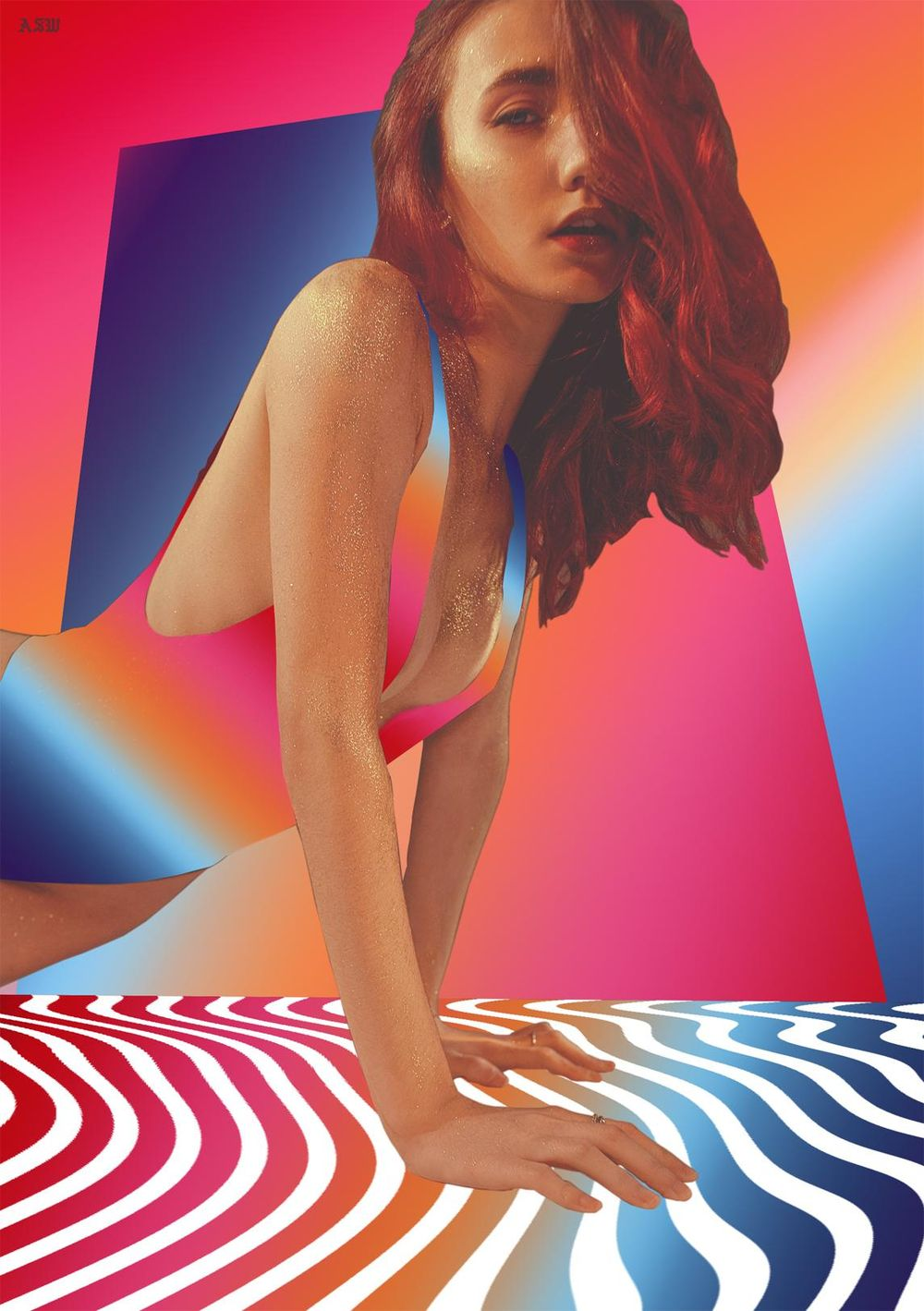 Gradient Girl - image 1 - student project