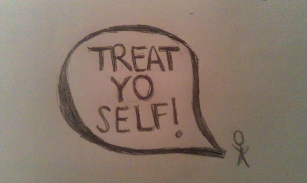 First sketch eva! Treat yo self!  - image 2 - student project