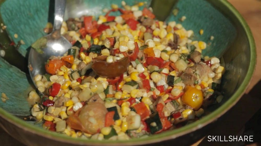 Chicken and Veggies - image 4 - student project