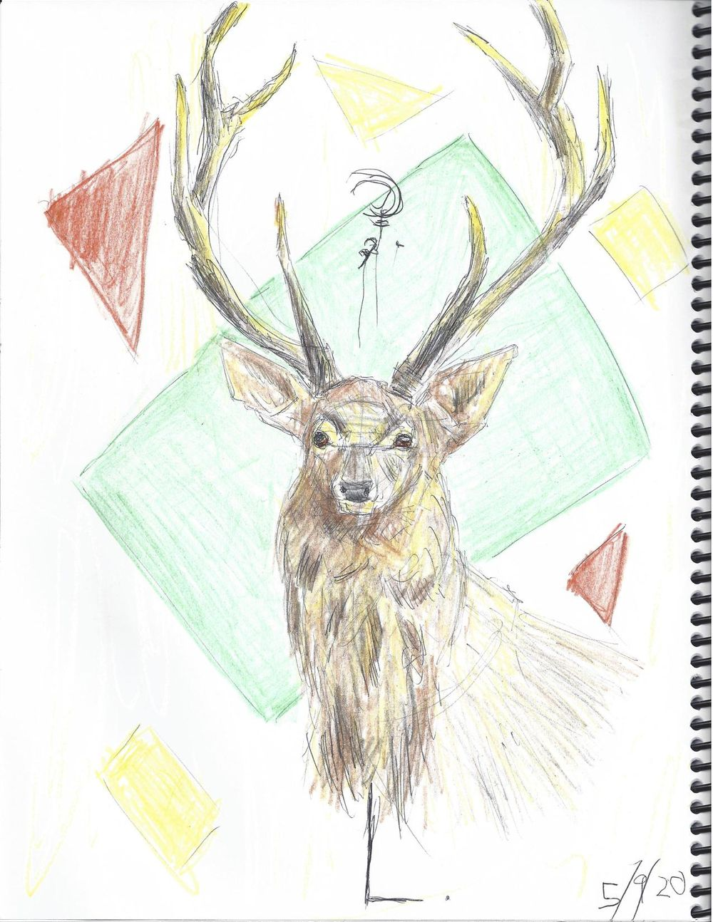 Deer [ left hand ] - image 1 - student project