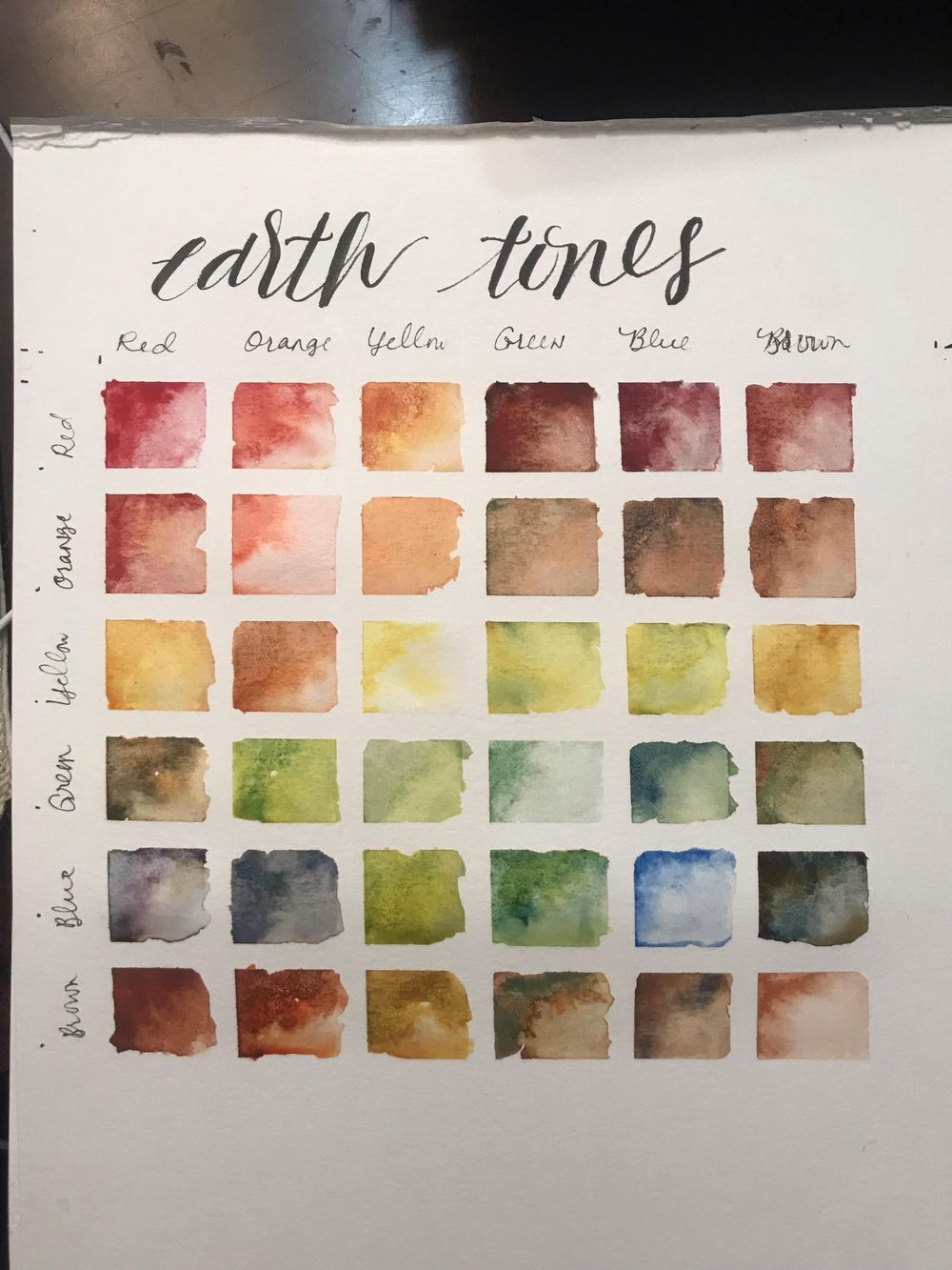 Earth Tones Course - image 3 - student project