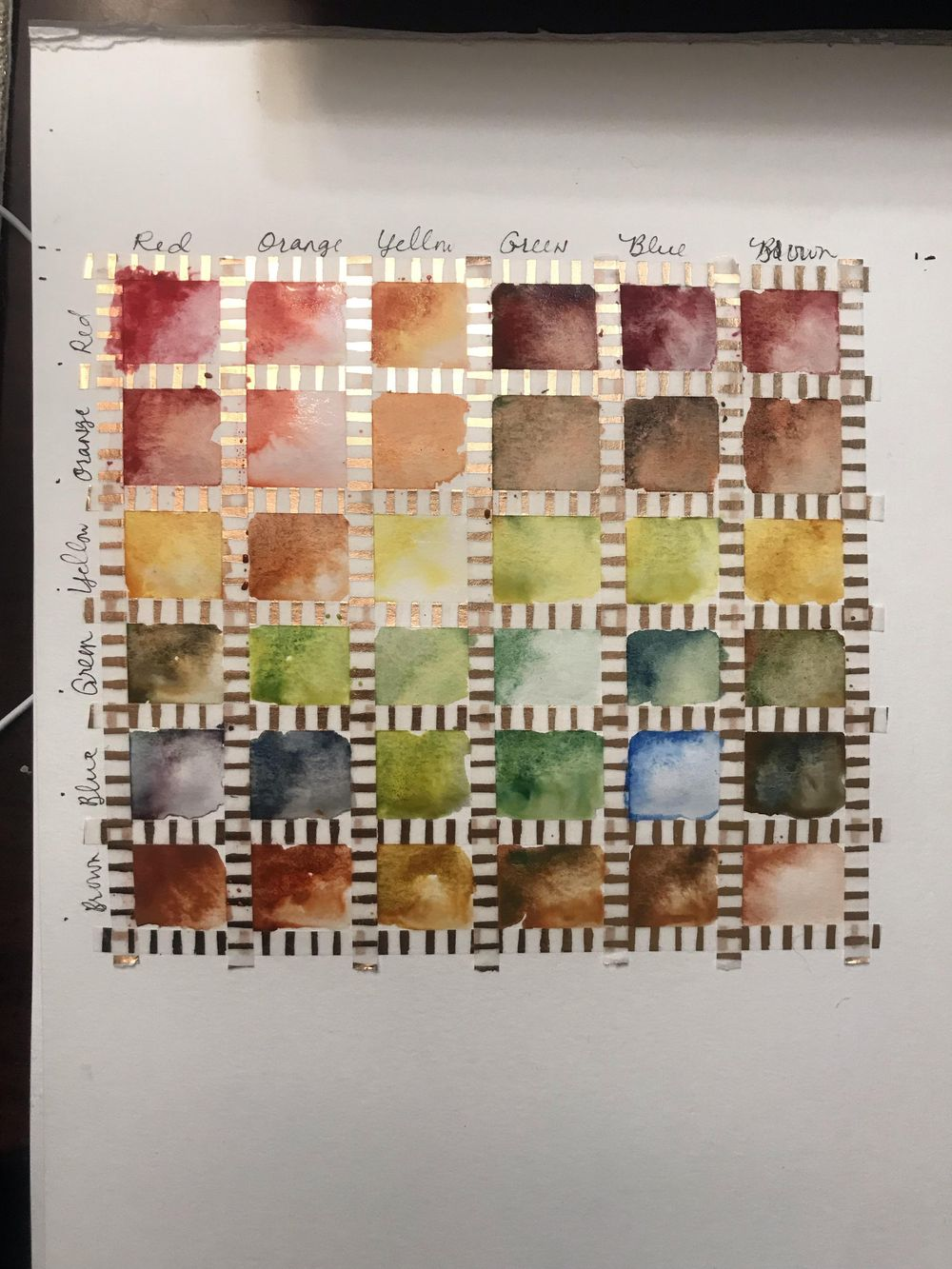 Earth Tones Course - image 2 - student project