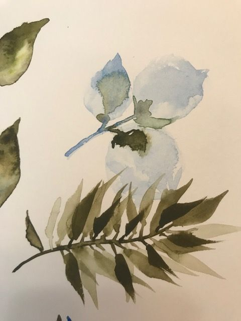 Learn to Paint Leaves - image 1 - student project