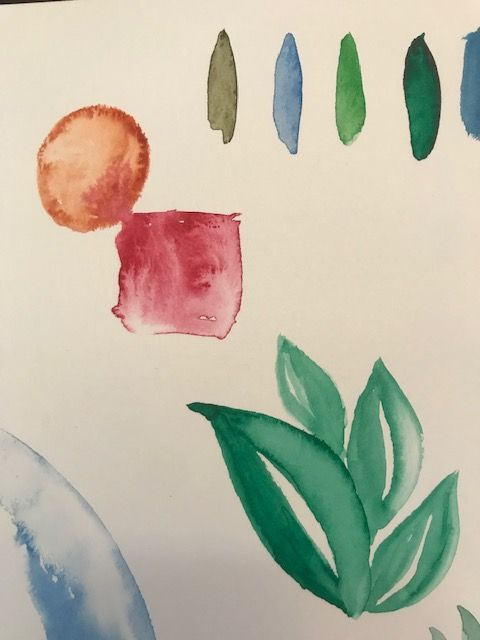 Learn to Paint Leaves - image 2 - student project
