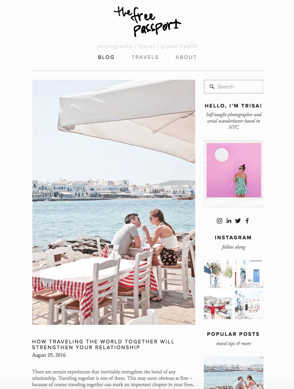 The Free Passport   Travel + Visual Storytelling Blog - image 1 - student project