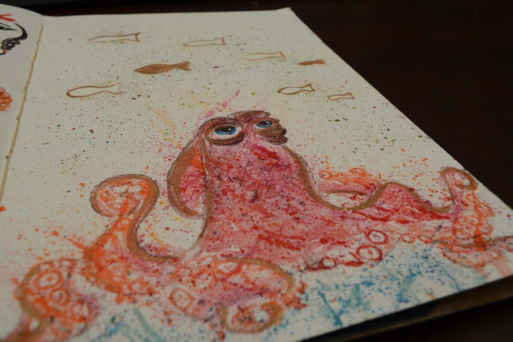 Ink and Watercolor - A magical combination - image 2 - student project