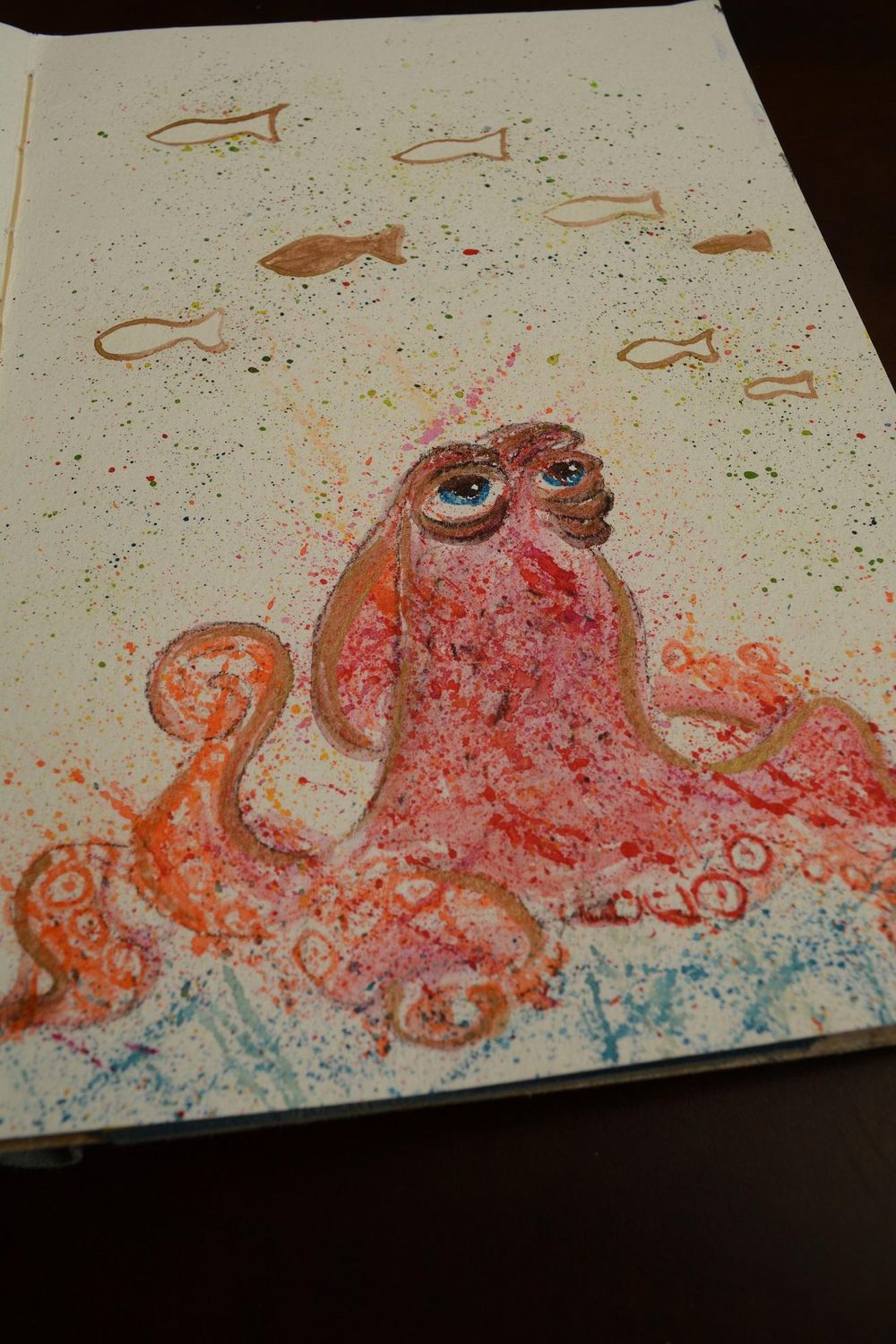 Ink and Watercolor - A magical combination - image 1 - student project