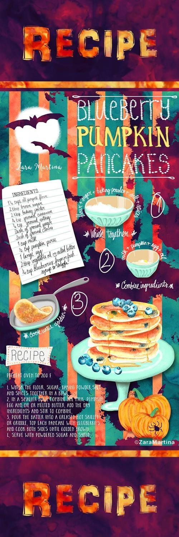 Blueberry Pumpkin Pancake Recipe - image 2 - student project