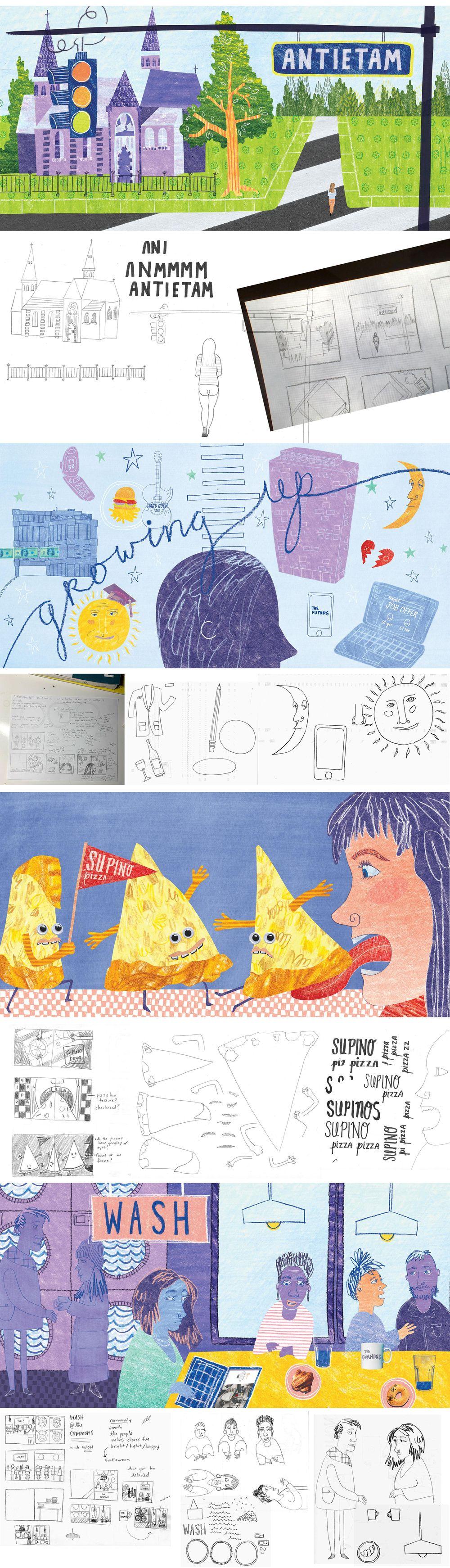 Pilot Illustrations - image 1 - student project