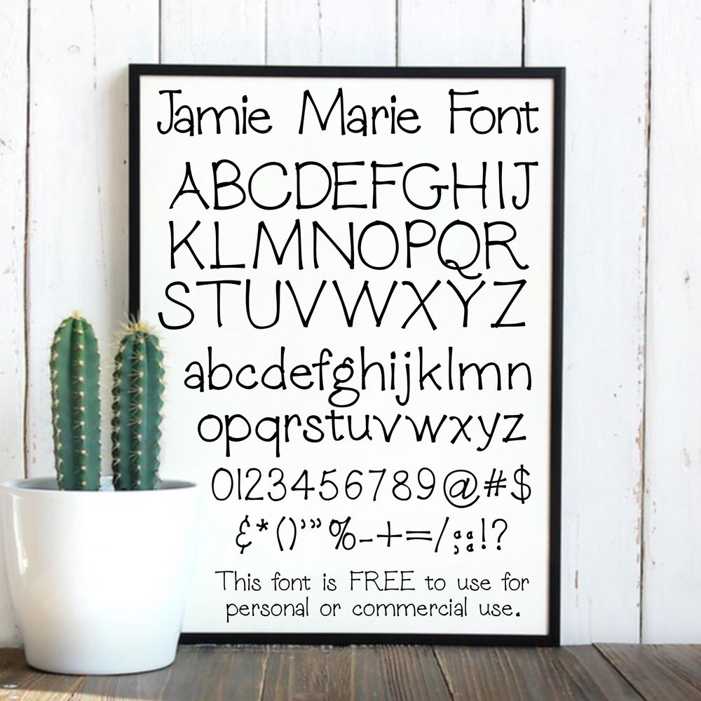 Jamie Marie Font - image 1 - student project