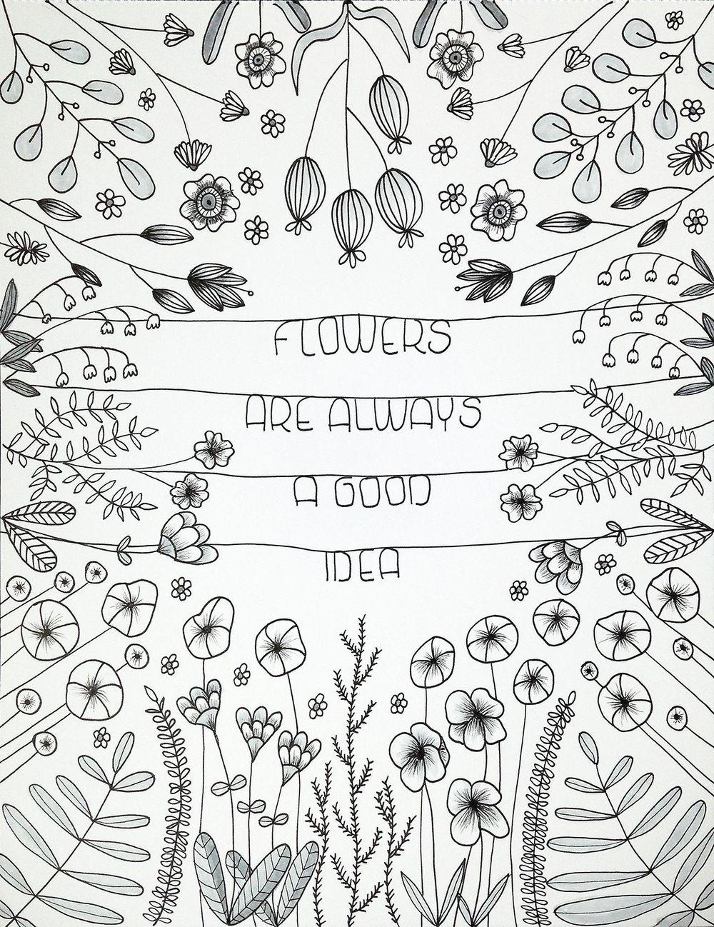 Bullet Journal Botanicals - image 11 - student project