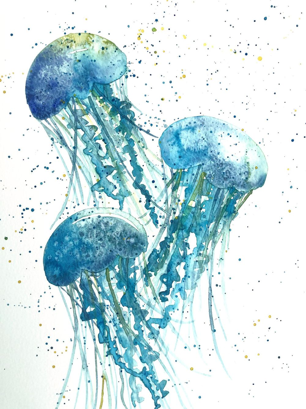Watercolour Exercises - image 2 - student project