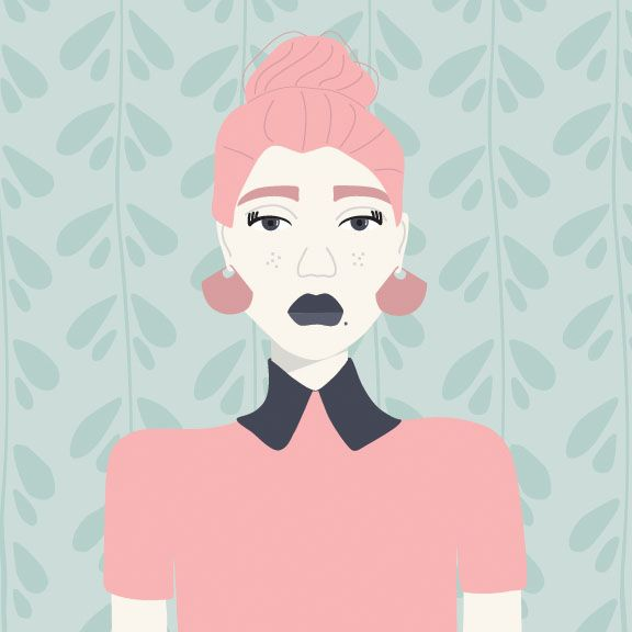 Moody Messy Bun - image 1 - student project