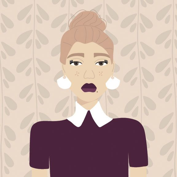 Moody Messy Bun - image 2 - student project