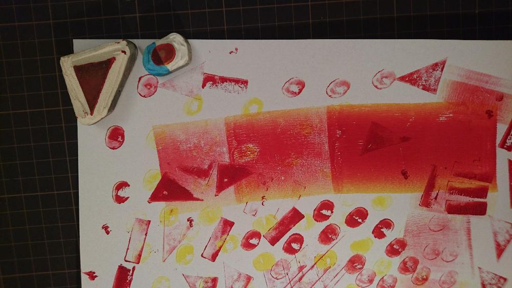 My stencil prints - image 1 - student project