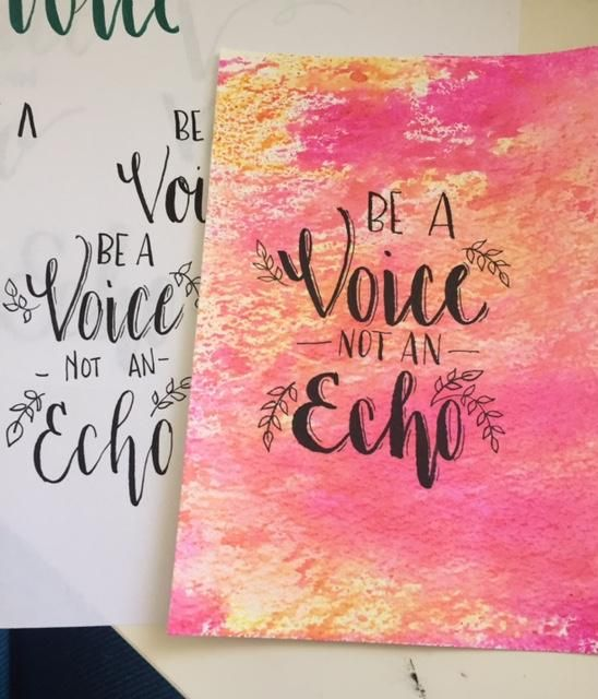 Be a Voice - image 4 - student project