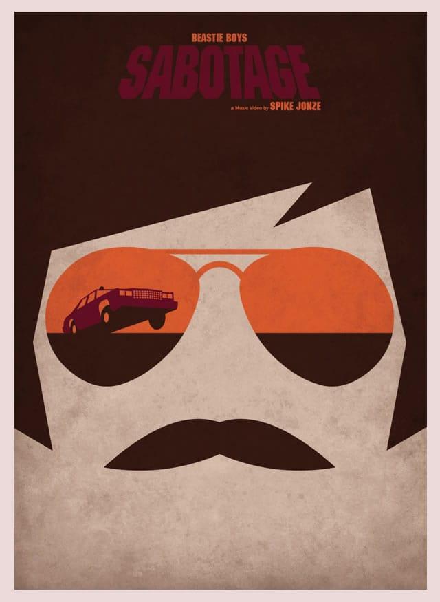 Sabotage Movie Minimalist Poster - image 1 - student project