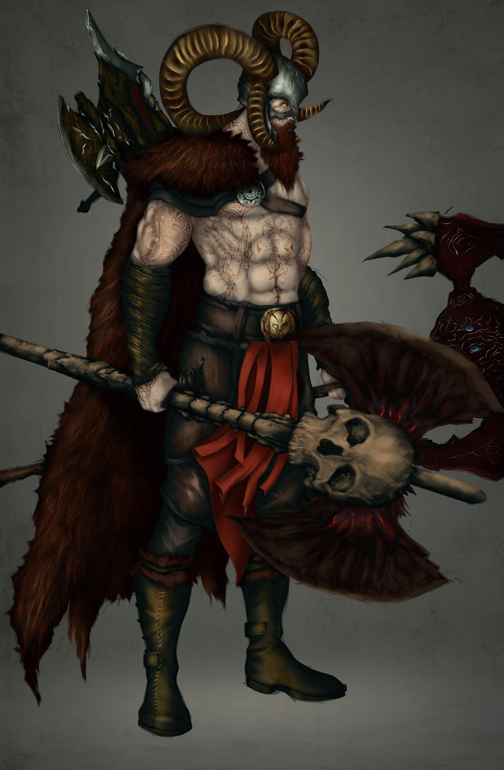 Barbarian - image 1 - student project