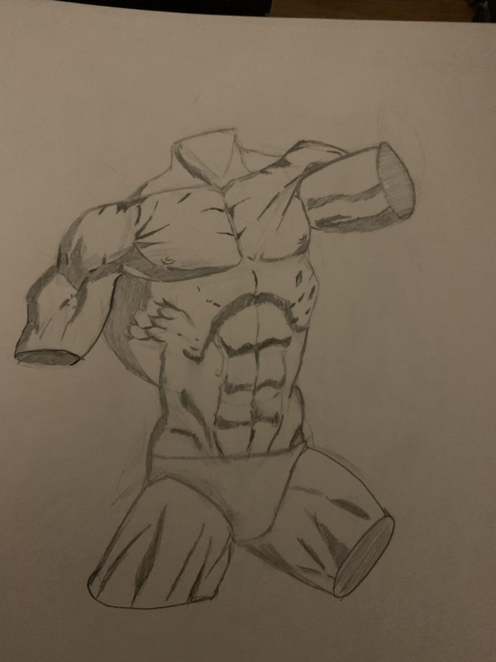 Torso Drawings - image 2 - student project