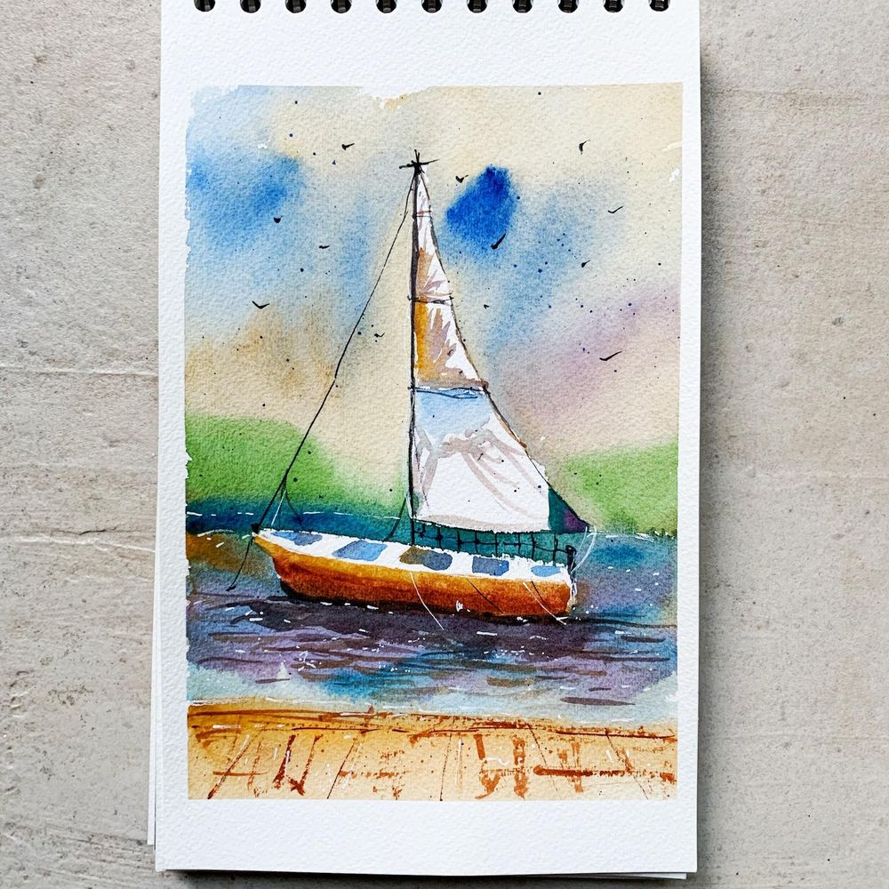 Sailing Boat - image 1 - student project