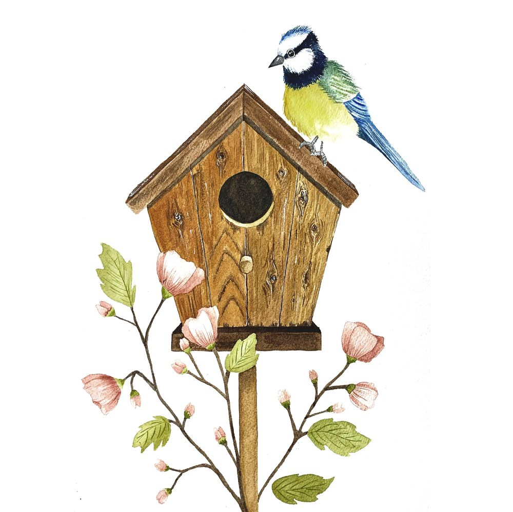 My birdhouse - image 1 - student project