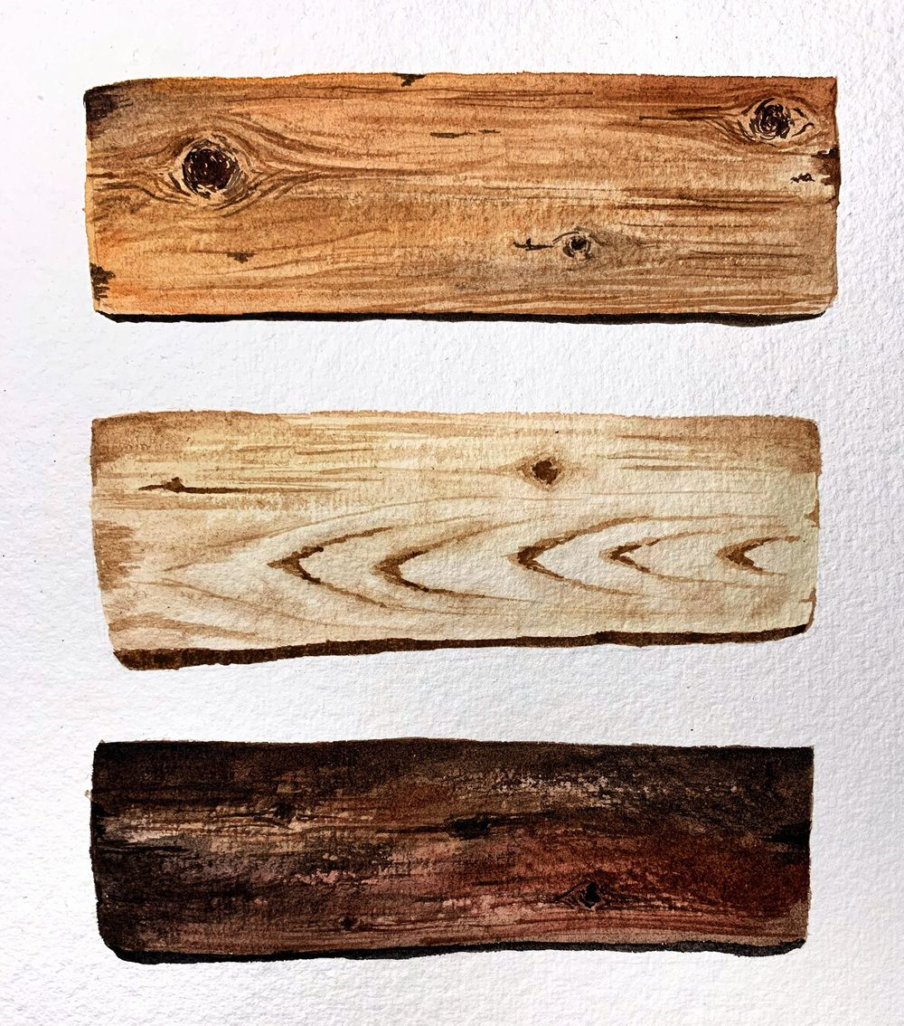 Wood textures - image 1 - student project