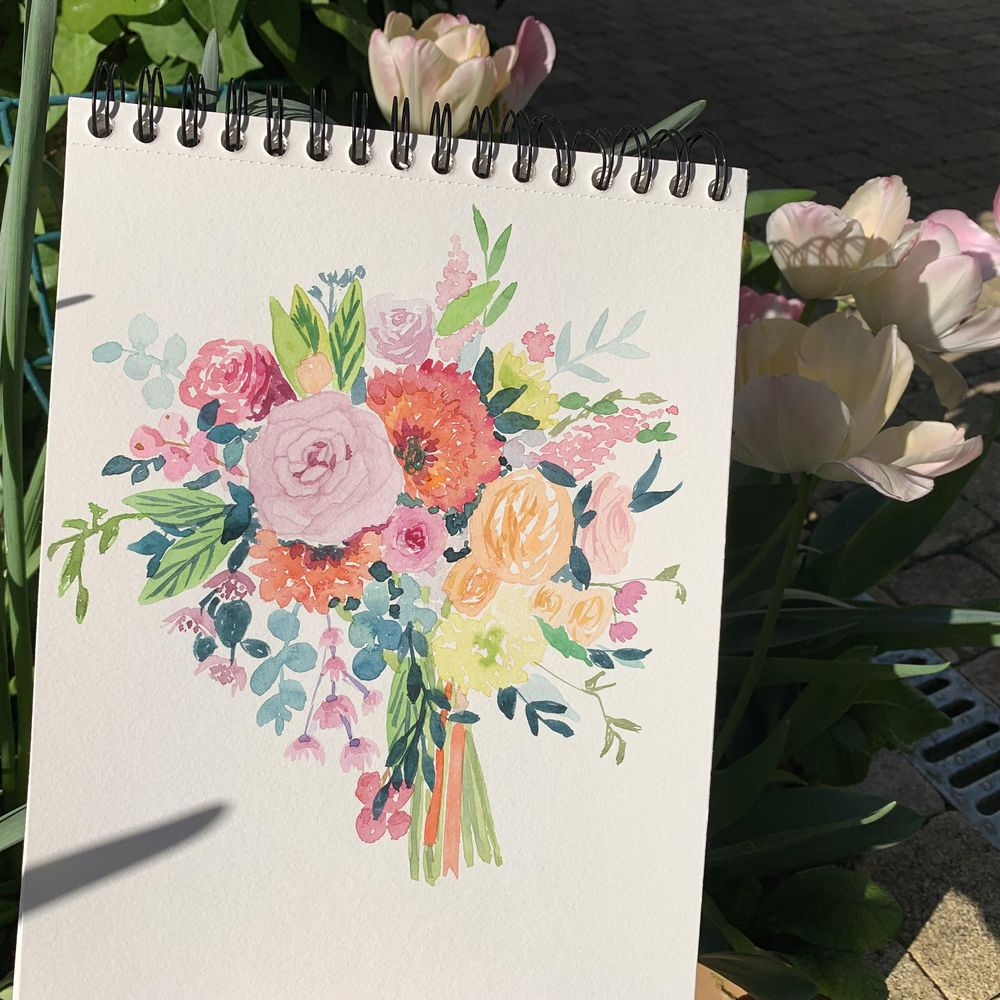 First bouquet - image 2 - student project