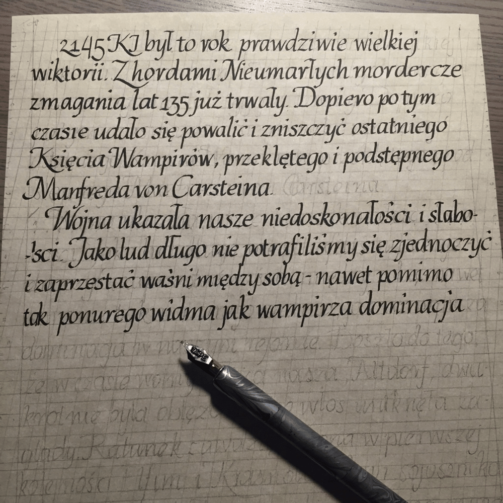 Practicing on a text written for RPG session is demanding! - image 3 - student project