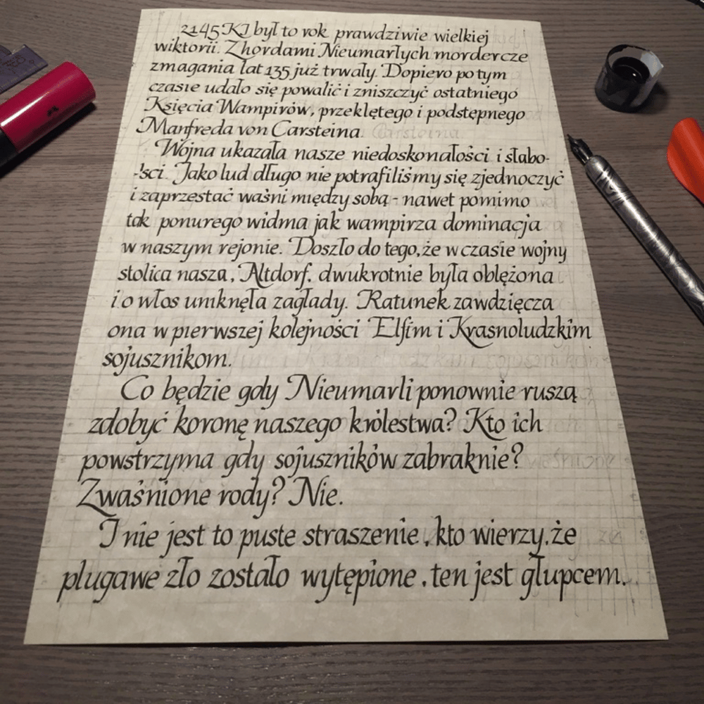 Practicing on a text written for RPG session is demanding! - image 4 - student project