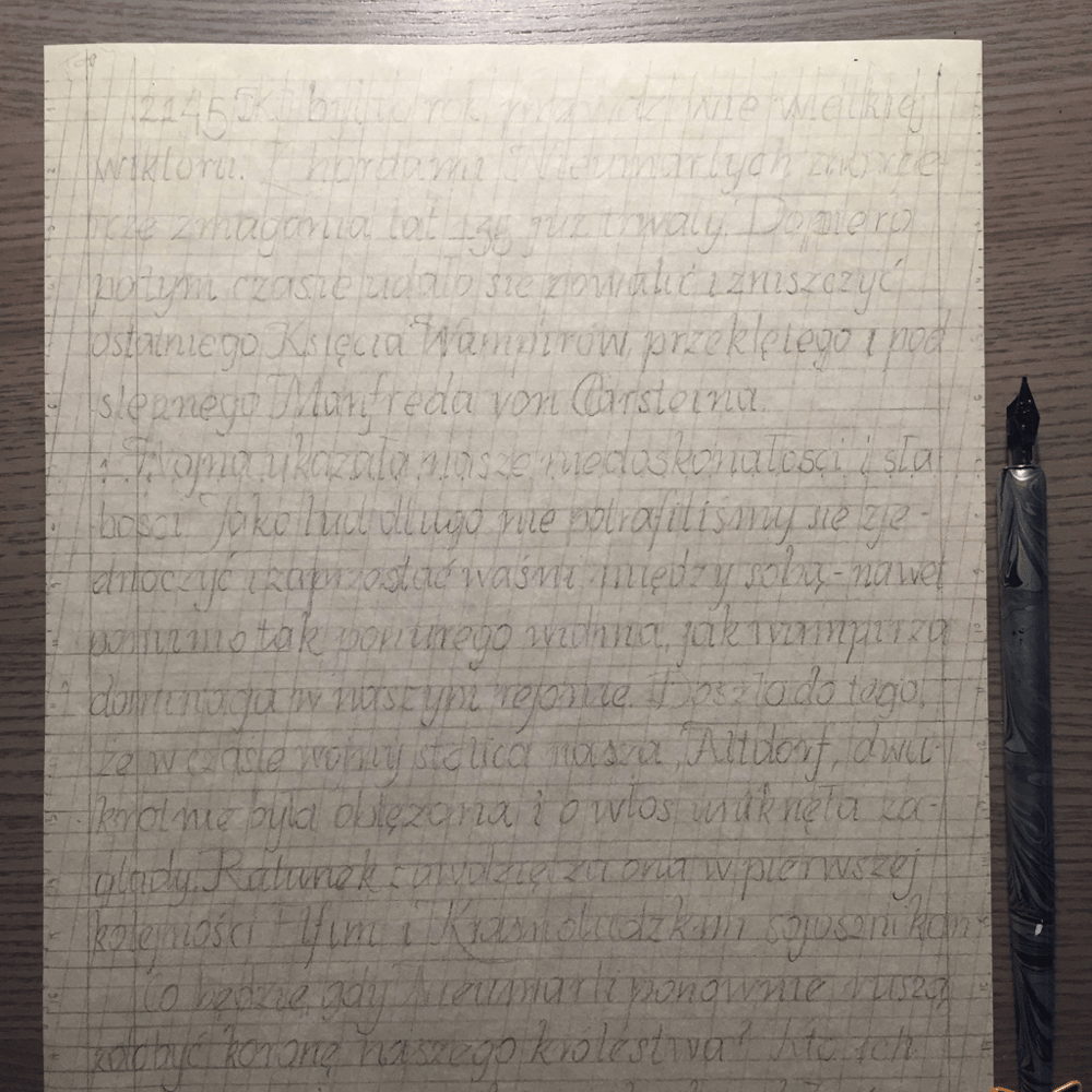 Practicing on a text written for RPG session is demanding! - image 2 - student project