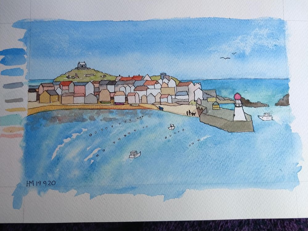 St. Ives Harbour - image 2 - student project