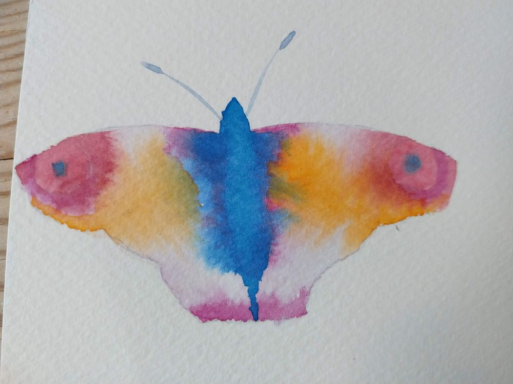 Simple Butterflyes - image 1 - student project