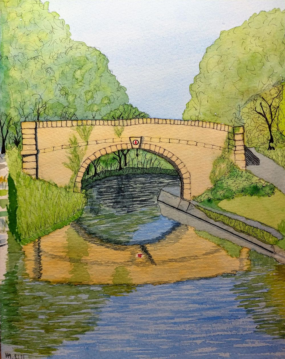Painting Water & Reflexions - image 6 - student project