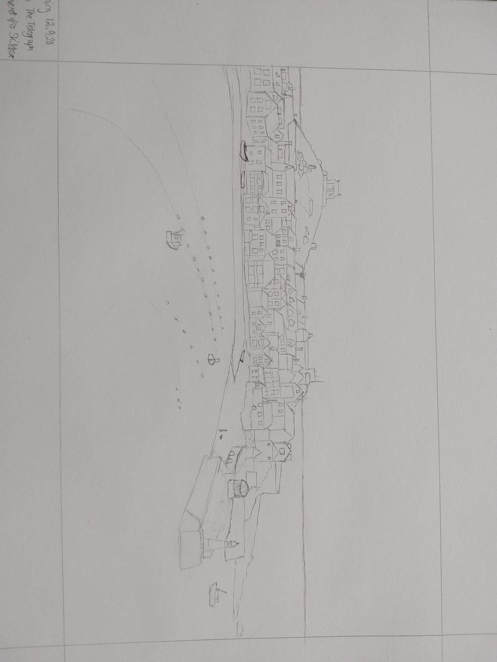 St. Ives Harbour - image 1 - student project