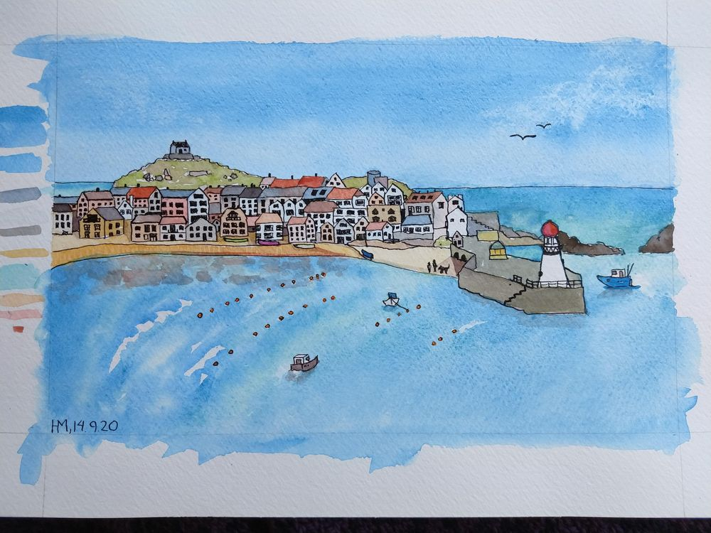St. Ives Harbour - image 3 - student project
