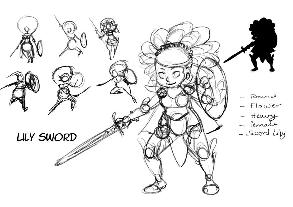 Lily Sword - image 1 - student project