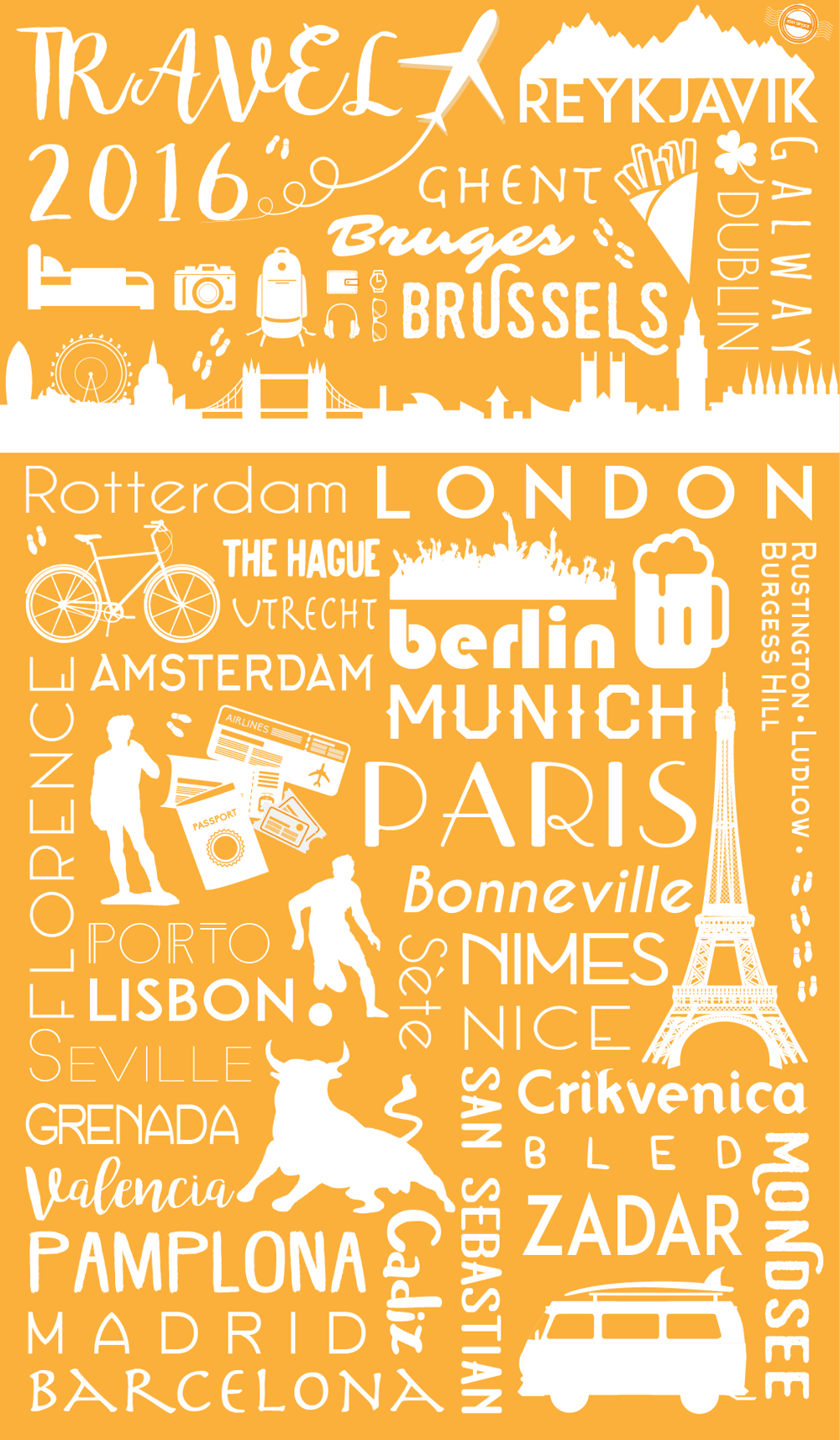 Travel 2016 Poster - image 1 - student project