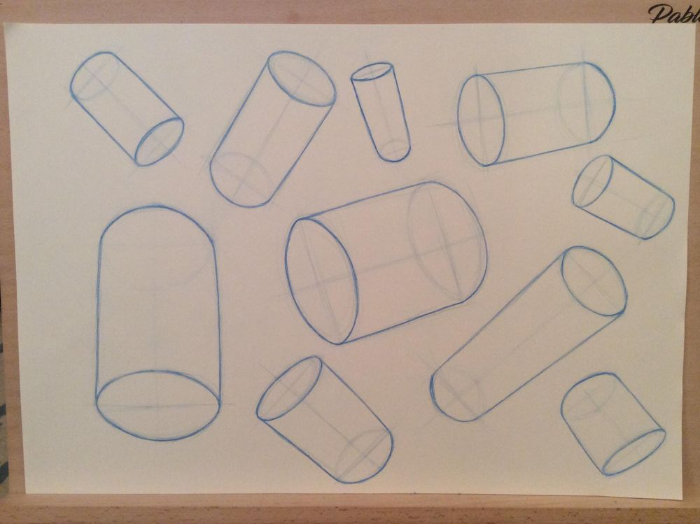 Spheres & Cylinders - image 1 - student project