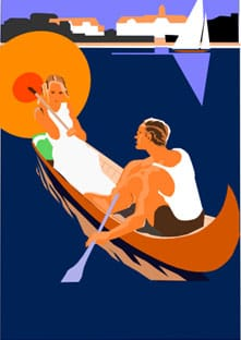Art Deco Poster Project - image 3 - student project
