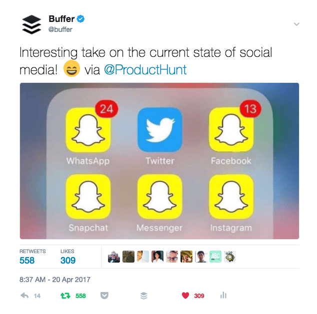The Power of Curated Content - Buffer - image 1 - student project