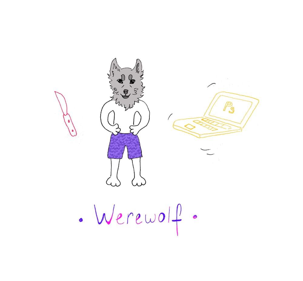 Werewolfy - image 1 - student project