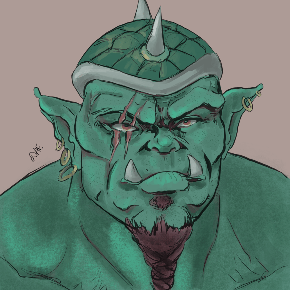 Green ogre and practice - image 1 - student project