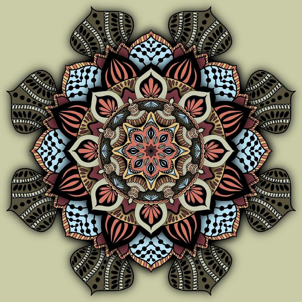 My Mandalas - image 1 - student project