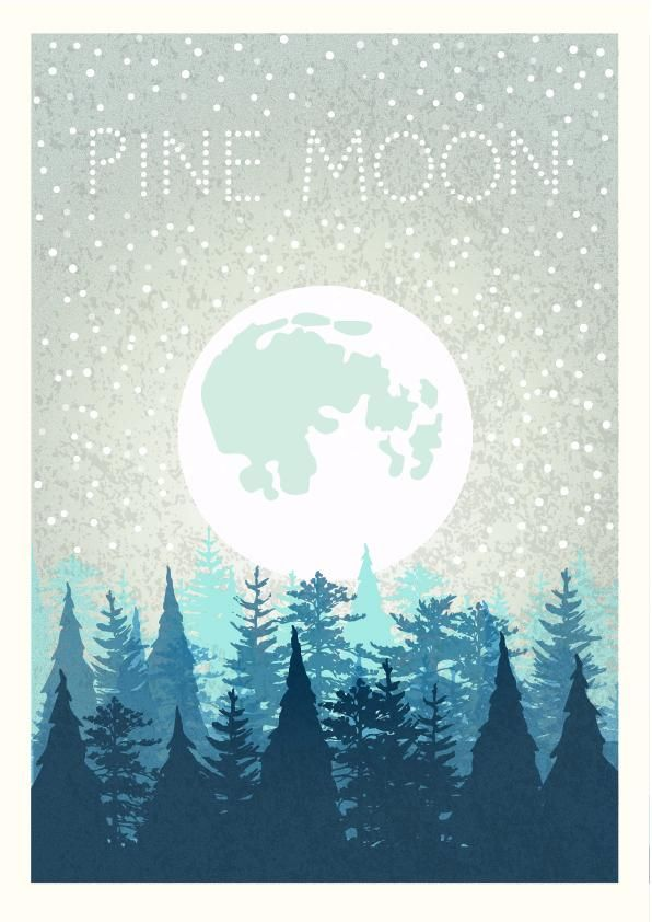 Pine moon - image 1 - student project