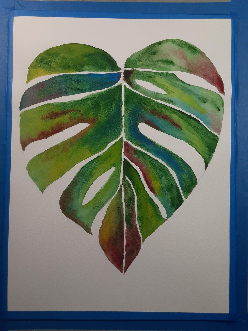 Watercolor Botanicals Project - image 2 - student project