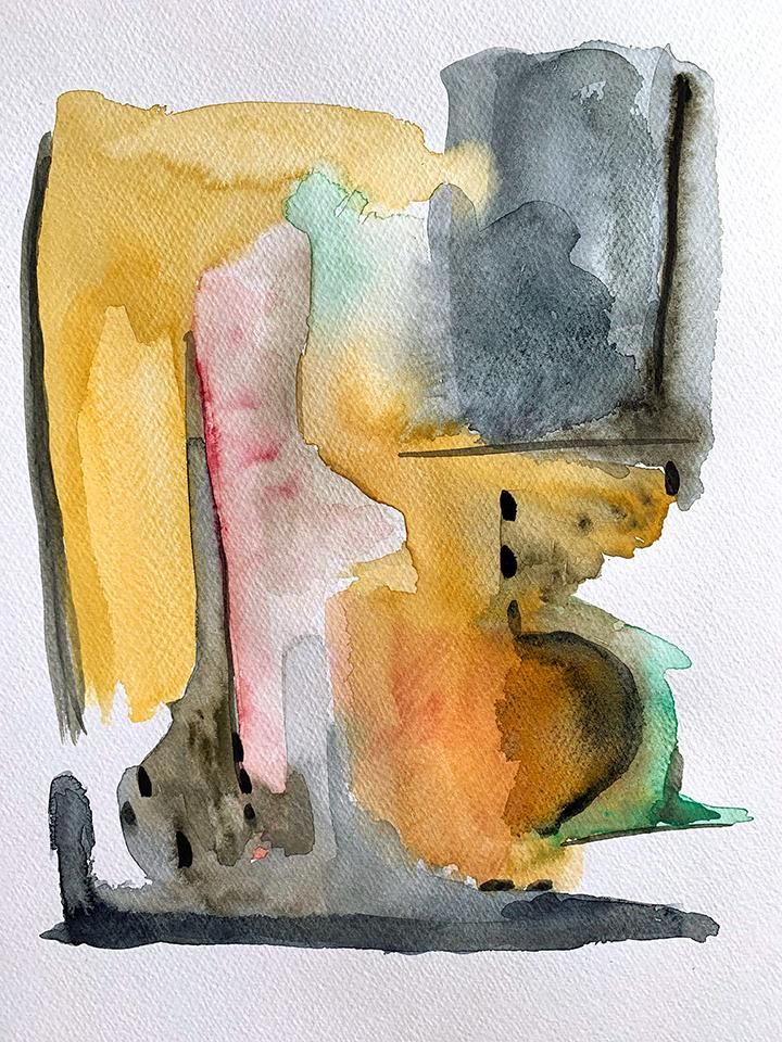 Abstract_Watercolor_FannyHH - image 1 - student project