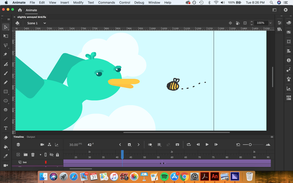 Slightly Annoyed Bird - image 3 - student project