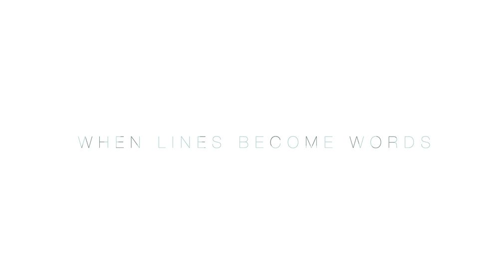 When Words Become Lines - image 6 - student project